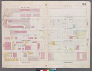New York City, NY Fire Insurance 1859 Sheet 81 V5 - Old Map Reprint - New York
