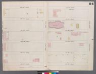 New York City, NY Fire Insurance 1859 Sheet 84 V5 - Old Map Reprint - New York