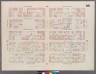 New York City, NY Fire Insurance 1859 Sheet 95 V6 - Old Map Reprint - New York