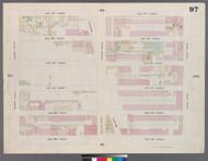 New York City, NY Fire Insurance 1859 Sheet 97 V6 - Old Map Reprint - New York