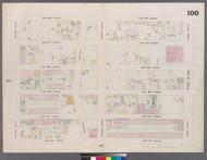 New York City, NY Fire Insurance 1859 Sheet 100 V6 - Old Map Reprint - New York