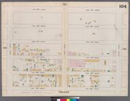 New York City, NY Fire Insurance 1862 Sheet 104 V7 - Old Map Reprint - New York