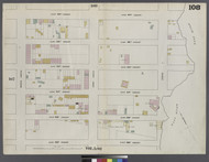 New York City, NY Fire Insurance 1862 Sheet 108 V7 - Old Map Reprint - New York