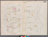 New York City, NY Fire Insurance 1862 Sheet 109 V7 - Old Map Reprint - New York