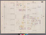 New York City, NY Fire Insurance 1862 Sheet 110 V7 - Old Map Reprint - New York