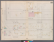 New York City, NY Fire Insurance 1862 Sheet 112 V7 - Old Map Reprint - New York