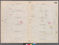 New York City, NY Fire Insurance 1862 Sheet 113 V7 - Old Map Reprint - New York