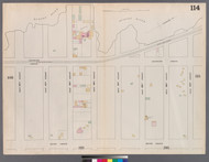 New York City, NY Fire Insurance 1862 Sheet 114 V7 - Old Map Reprint - New York