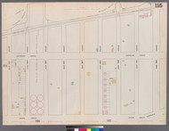 New York City, NY Fire Insurance 1862 Sheet 115 V7 - Old Map Reprint - New York