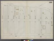 New York City, NY Fire Insurance 1862 Sheet 120 V7 - Old Map Reprint - New York