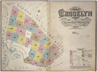 Brooklyn, NY Fire Insurance 1887 Volume 2 Index V2 - Old Map Reprint - New York