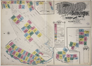 Brooklyn, NY Fire Insurance 1893 Volume A Index VA - Old Map Reprint - New York