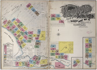 Brooklyn, NY Fire Insurance 1895 Volume B Index VB - Old Map Reprint - New York