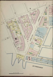 Brooklyn, NY Fire Insurance 1886 Sheet 3-L V1 - Old Map Reprint - New York