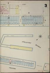 Brooklyn, NY Fire Insurance 1886 Sheet 3-R V1 - Old Map Reprint - New York