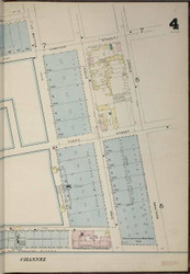 Brooklyn, NY Fire Insurance 1886 Sheet 4-R V1 - Old Map Reprint - New York