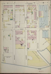 Brooklyn, NY Fire Insurance 1886 Sheet 5-L V1 - Old Map Reprint - New York