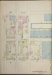 Brooklyn, NY Fire Insurance 1886 Sheet 6-L V1 - Old Map Reprint - New York