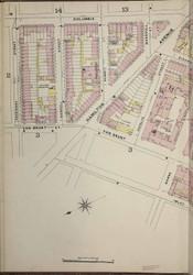 Brooklyn, NY Fire Insurance 1886 Sheet 8-L V1 - Old Map Reprint - New York