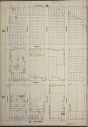 Brooklyn, NY Fire Insurance 1886 Sheet 12-L V1 - Old Map Reprint - New York