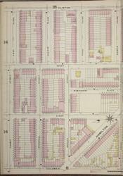 Brooklyn, NY Fire Insurance 1886 Sheet 13-L V1 - Old Map Reprint - New York