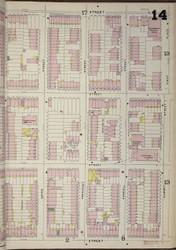 Brooklyn, NY Fire Insurance 1886 Sheet 14-R V1 - Old Map Reprint - New York