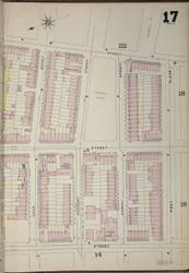 Brooklyn, NY Fire Insurance 1886 Sheet 17-R V1 - Old Map Reprint - New York