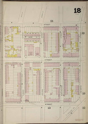 Brooklyn, NY Fire Insurance 1886 Sheet 18-R V1 - Old Map Reprint - New York