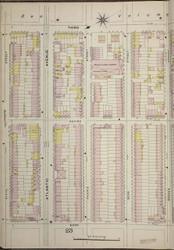 Brooklyn, NY Fire Insurance 1886 Sheet 24-L V1 - Old Map Reprint - New York
