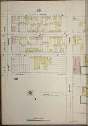 Brooklyn, NY Fire Insurance 1886 Sheet 27-L V1 - Old Map Reprint - New York