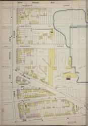Brooklyn, NY Fire Insurance 1886 Sheet 29-L V1 - Old Map Reprint - New York
