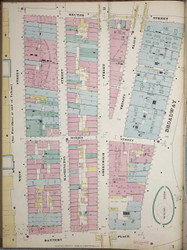 Manhattan, NY Fire Insurance 1894 Sheet 2L V1 - Old Map Reprint - New York