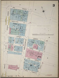 Manhattan, NY Fire Insurance 1894 Sheet 3 V1 - Old Map Reprint - New York