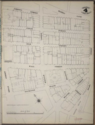 Manhattan, NY Fire Insurance 1894 Sheet 4 SW V1 - Old Map Reprint - New York