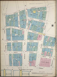 Manhattan, NY Fire Insurance 1894 Sheet 5S-1 V1 - Old Map Reprint - New York