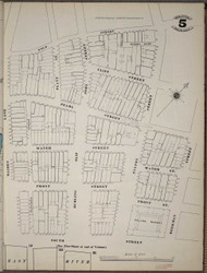 Manhattan, NY Fire Insurance 1894 Sheet 5SS V1 - Old Map Reprint - New York