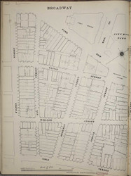Manhattan, NY Fire Insurance 1894 Sheet 6S V1 - Old Map Reprint - New York
