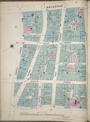 Manhattan, NY Fire Insurance 1894 Sheet 6S-1 V1 - Old Map Reprint - New York