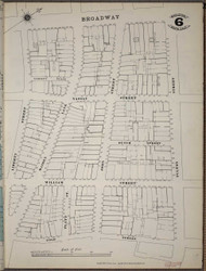 Manhattan, NY Fire Insurance 1894 Sheet 6SS V1 - Old Map Reprint - New York