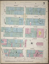 Manhattan, NY Fire Insurance 1894 Sheet 7 V1 - Old Map Reprint - New York