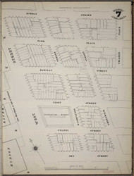Manhattan, NY Fire Insurance 1894 Sheet 7 SW V1 - Old Map Reprint - New York