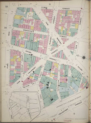 Manhattan, NY Fire Insurance 1894 Sheet 10 L V1 - Old Map Reprint - New York