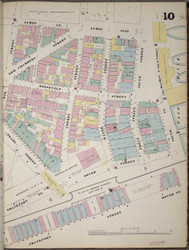 Manhattan, NY Fire Insurance 1894 Sheet 10 R V1 - Old Map Reprint - New York