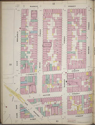 Manhattan, NY Fire Insurance 1894 Sheet 11 L V1 - Old Map Reprint - New York