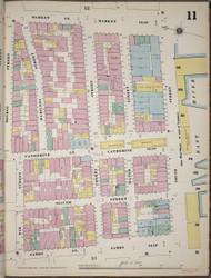Manhattan, NY Fire Insurance 1894 Sheet 11 R V1 - Old Map Reprint - New York