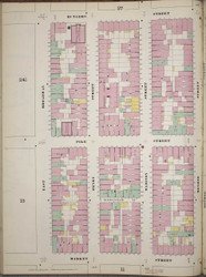 Manhattan, NY Fire Insurance 1894 Sheet 12 L V1 - Old Map Reprint - New York