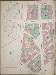 Manhattan, NY Fire Insurance 1894 Sheet 14 L V1 - Old Map Reprint - New York