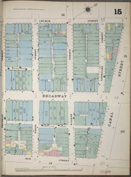 Manhattan, NY Fire Insurance 1894 Sheet 15 V1 - Old Map Reprint - New York