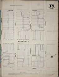 Manhattan, NY Fire Insurance 1894 Sheet 15SS V1 - Old Map Reprint - New York