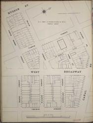 Manhattan, NY Fire Insurance 1894 Sheet 16S V1 - Old Map Reprint - New York